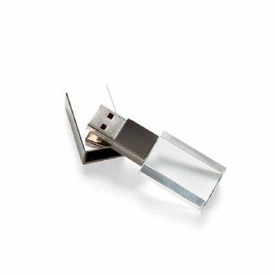 Arena Brindes - Pen Drive 4 GB de vidro