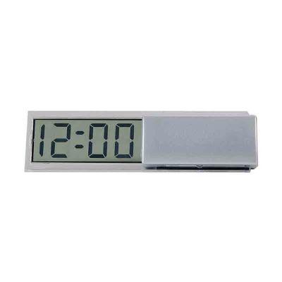 Arena Brindes - Relógio lcd de mesa personalizado