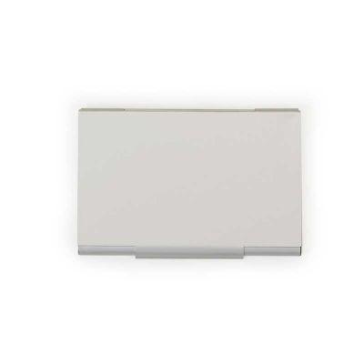 Arena Brindes - Porta cartão alumínio