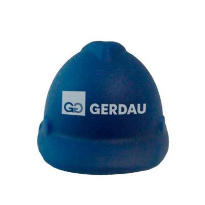 Thap  Brindes - Anti-Stress capacete azul.