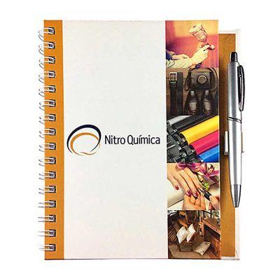Thap  Brindes - Caderno com suporte para caneta