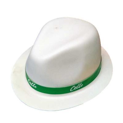bonito e barato, o chapéu samba é uma ótima opção para animar o seu evento. Personalização na fita e no chapéu. - Thap  Brindes