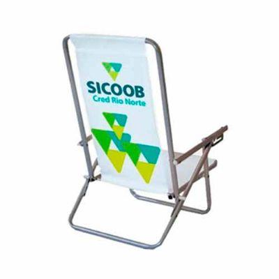 Cadeira de praia personalizada - Thap  Brindes