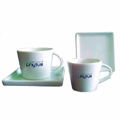 Thap  Brindes - Xícara de porcelana personalizada