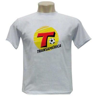 Camiseta gola careca 100% Algodão - Fit Camisetas