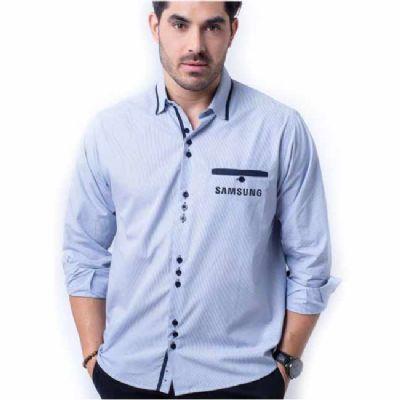 fit-promocionais - Camisa social listrada