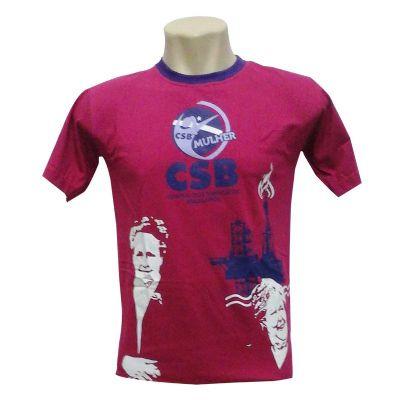 Fit Camisetas - Camiseta gola careca 100% algodão