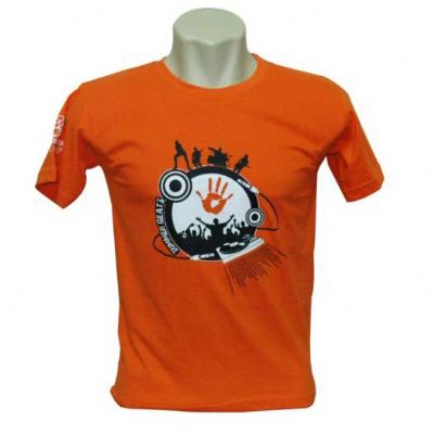 fit-promocionais - Camiseta gola careca 100% algodão