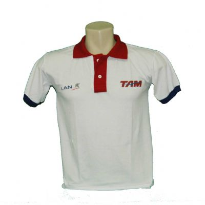 fit-promocionais - Camisa Polo com gola diferenciada