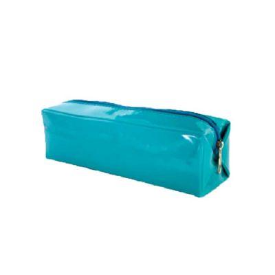 obi-brasil - Estojo azul claro verniz