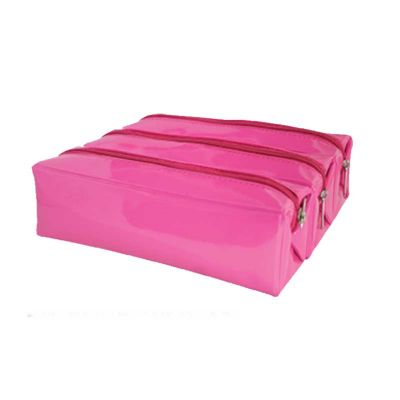 obi-brasil - Estojo tubo quadrado triplo performance Pink