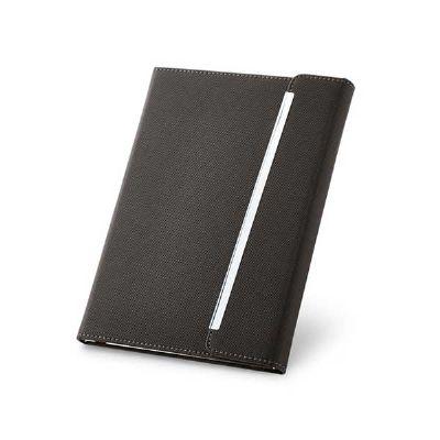 Job Promocional - Caderno em couro sintético