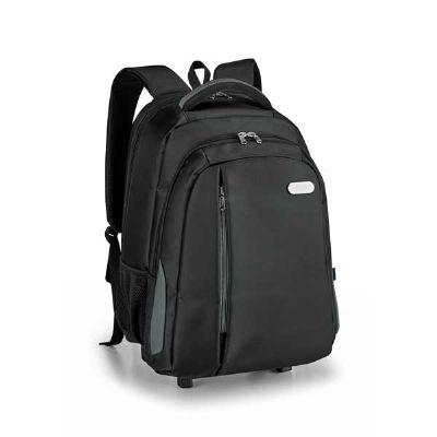 Mochila para notebook com carrinho removível