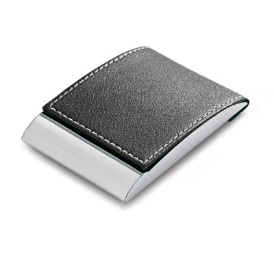 Porta-cartão de couro