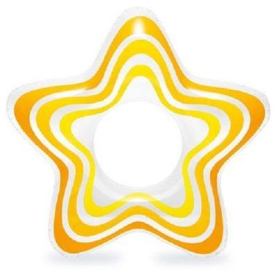 YepUp - Boia Inflável em formato de estrela. Divertido e seguro para as crianças brincarem nas piscinas! Dimensões: 74cm x 71cm