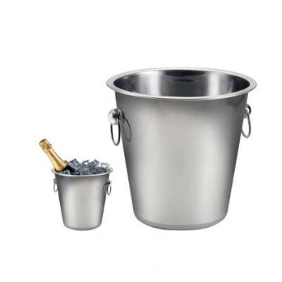 yepup - Balde de gelo em aço inox. Acompanha embalagem para presente personalizada.