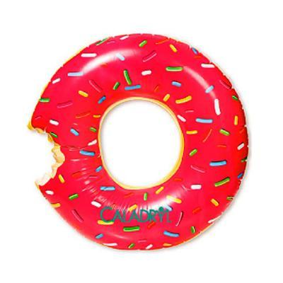 YepUp Presentes Criativos - Fácil de encher, prática para levar em sua viagem. Pode ser usada no mar ou na piscina. A bóia de donuts é simplesmente um jeito doce de relaxar!  Est...