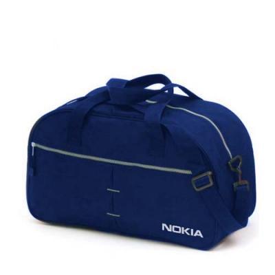 Bolsa de academia em nylon amassado,bolso externo com zíper. Alças de mão e alça de ombro com reg...