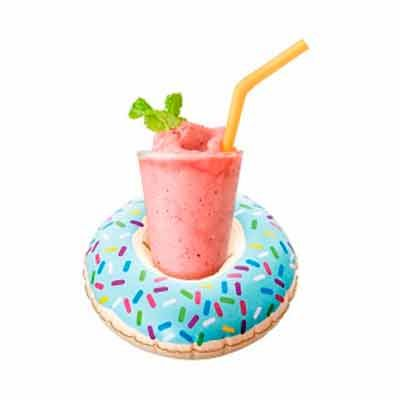 Porta copos e drinks, inflável formatos Donut - YepUp Presentes Criativos