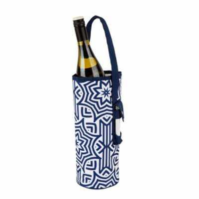 Porta vinho em poliéster ou lona