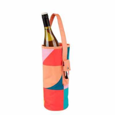 Porta vinho em poliéster ou lona - YepUp Presentes Criativos