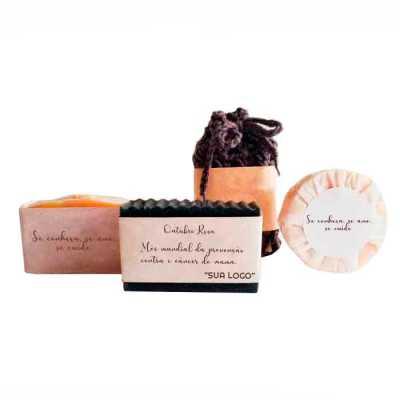 Kit Saboaria natura com 3 tipos de sabonetes - YepUp Presentes Criativos