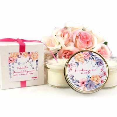 yepup - Kit SPA com vela aromática, embalagem para presente