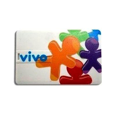 GWS Brindes - Pen drive cartão personalizado