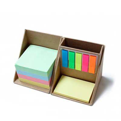 abra-promocional - Bloco de Anotações Cubo