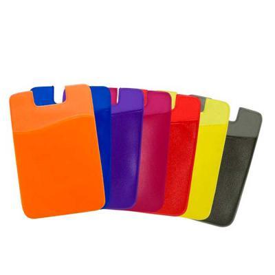 Abra Promocional - Adesivo Porta Cartão de PVC para Celular