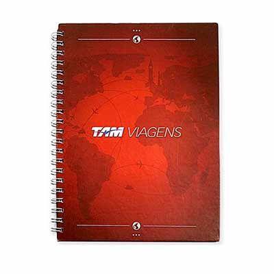 Abra Promocional - Caderno personalizado