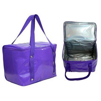 - Bolsa térmica, 12,5 litros, fechamento em ziper, alça de mão, revestimento térmico com espuma Pack, reforço em rebite, acabamento interno - 30 x 22 x...