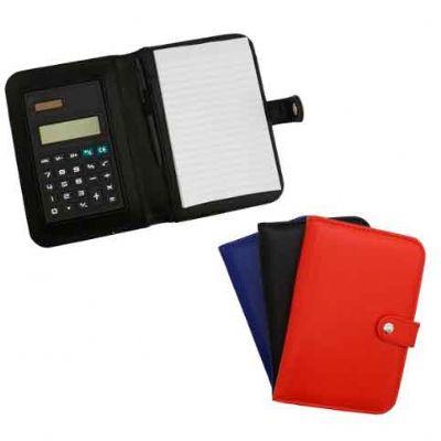 abra-promocional - Bloco de anotação + calculadora