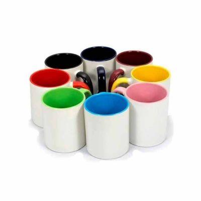 Caneca de cerâmica ou porcelana - Abra Promocional