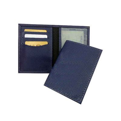 Porta-documento para veiculo de couro ou sintético - Abra Promocional