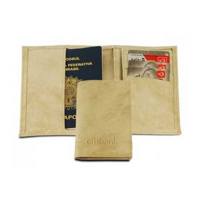 abra-promocional - Porta passaporte personalizado