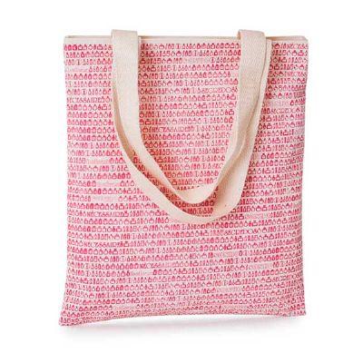 Bolsa confeccionada em lonita com alça dupla de ombro em algodão, formato 30cm x 20cm. - H2M Brindes
