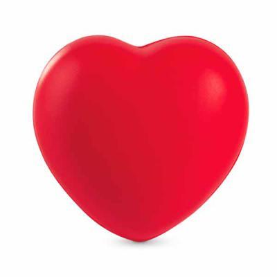 mexerica-brindes - Bolinha anti-estresse em formato de coração