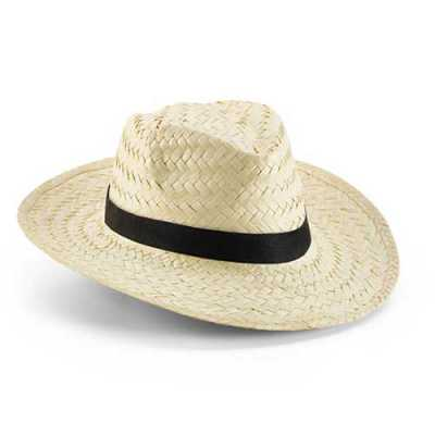 Chapéu Panamá com fita - Mexerica Brindes