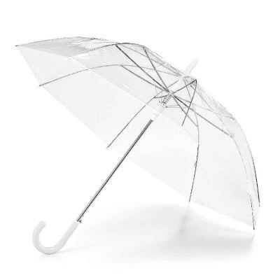 mexerica-brindes - Guarda-chuva transparente