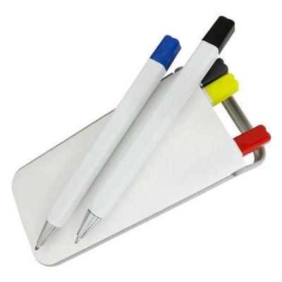 Mexerica Brindes - Kit canetas 5 em 1