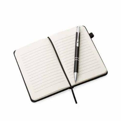 Mexerica Brindes - Caderneta com caneta