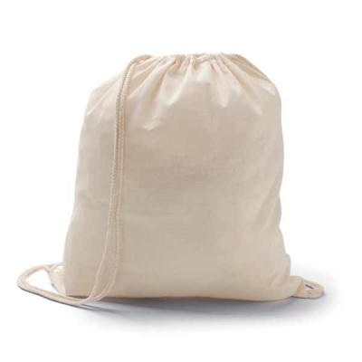 mexerica-brindes - Sacola tipo mochila em algodão