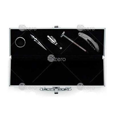 3Zero Brindes - Kit vinho maleta 5 peças