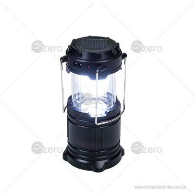 Lanterna recarregável - 3zero Brindes