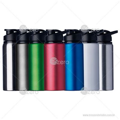 3zero-brindes - Squeeze 600ml alumínio