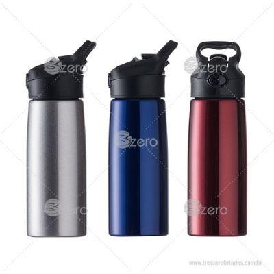 3zero-brindes - Squeeze inox 700ml