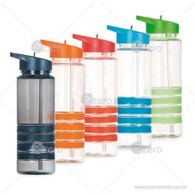 3zero Brindes - Squeeze plástico 700ml