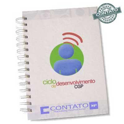 Contato Marketing Promocional - Caderno eco 15x21cm