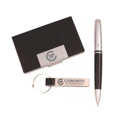 Contato Marketing Promocional - Kit executivo com 3 peças